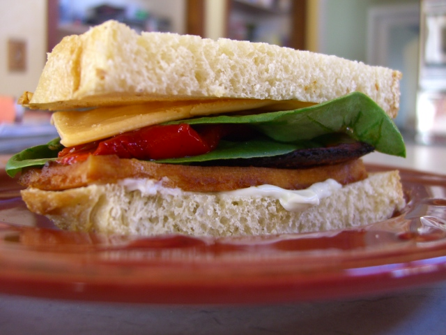 Smoky Miso Tofu Sandwiches -- Epicurean Vegan