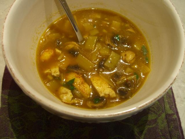 Szechuan Hot and Sour Soup -- Epicurean Vegan