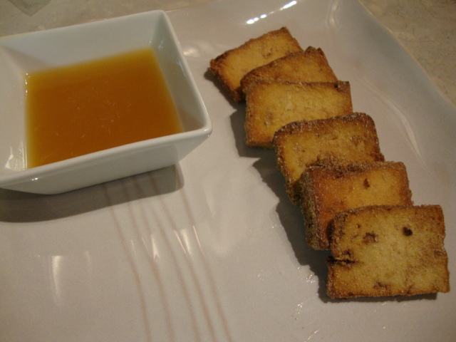 Crispy Tofu Slices with Orange Dipping Sauce -- Epicurean Vegan