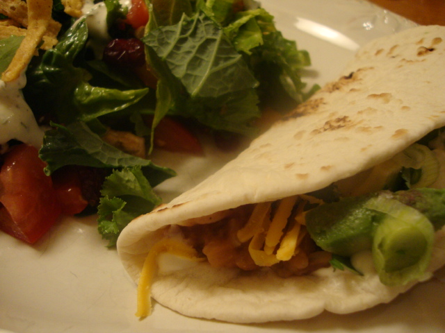 Fresh and Healthy Soft Tacos/Burritos -- Epicurean Vegan