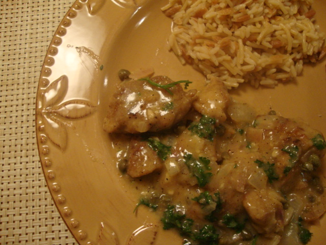 Seitan Piccata with White Wine and Capers -- Epicurean Vegan