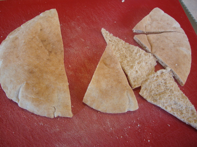 Pita Chips -- Epicurean Vegan