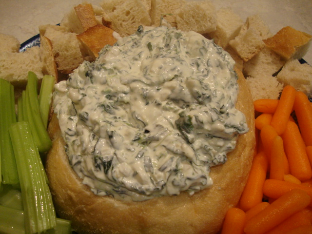 Spinach Dip -- Epicurean Vegan