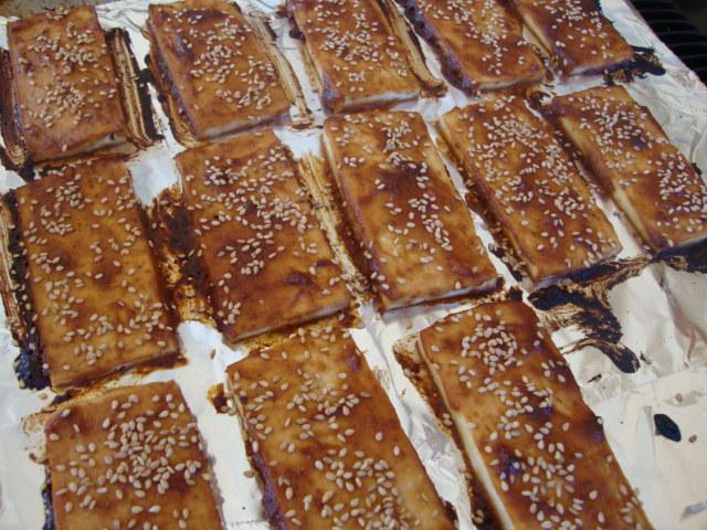 Sesame Tofu Sandwiches -- Epicurean Vegan