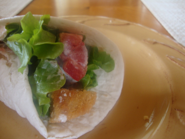 """Chicken"" Wrap -- Epicurean Vegan"