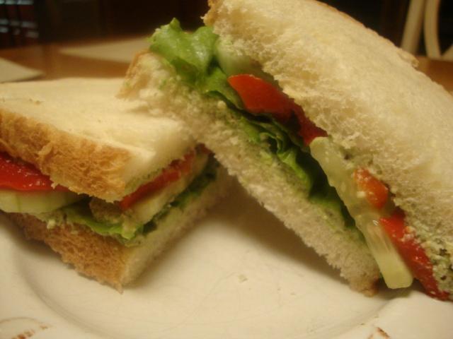Edamame Pate Sandwiches -- Epicurean Vegan