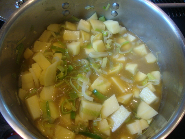 Potato-Leek Soup -- Epicurean Vegan