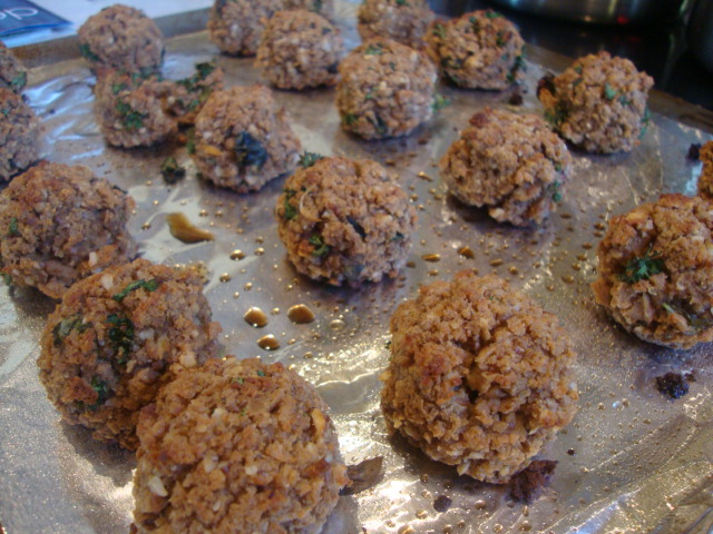 Seitan Meatballs -- Epicurean Vegan