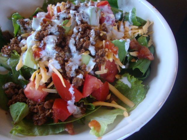 Taco Salad -- Epicurean Vegan