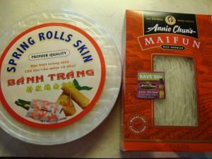 Spring Rolls with Peanut Dipping Sauce -- Epicurean Vegan