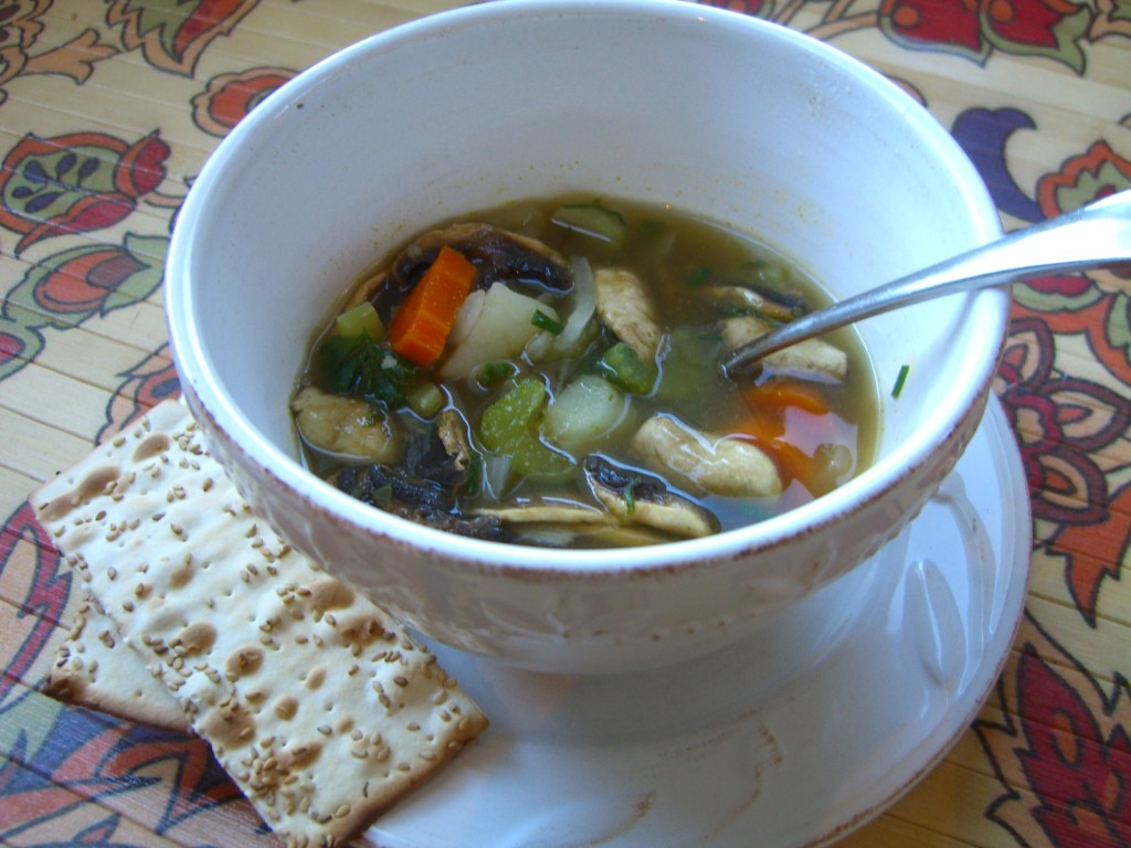 Vegetable Soup -- Epicurean Vegan