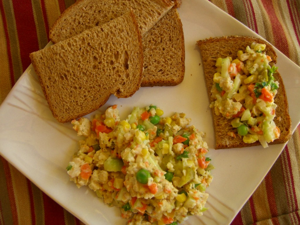 """Tuna"" Salad Sandwich -- Epicurean Vegan"