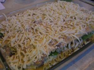 Spinach and Pesto Lasagna -- Epicurean Vegan