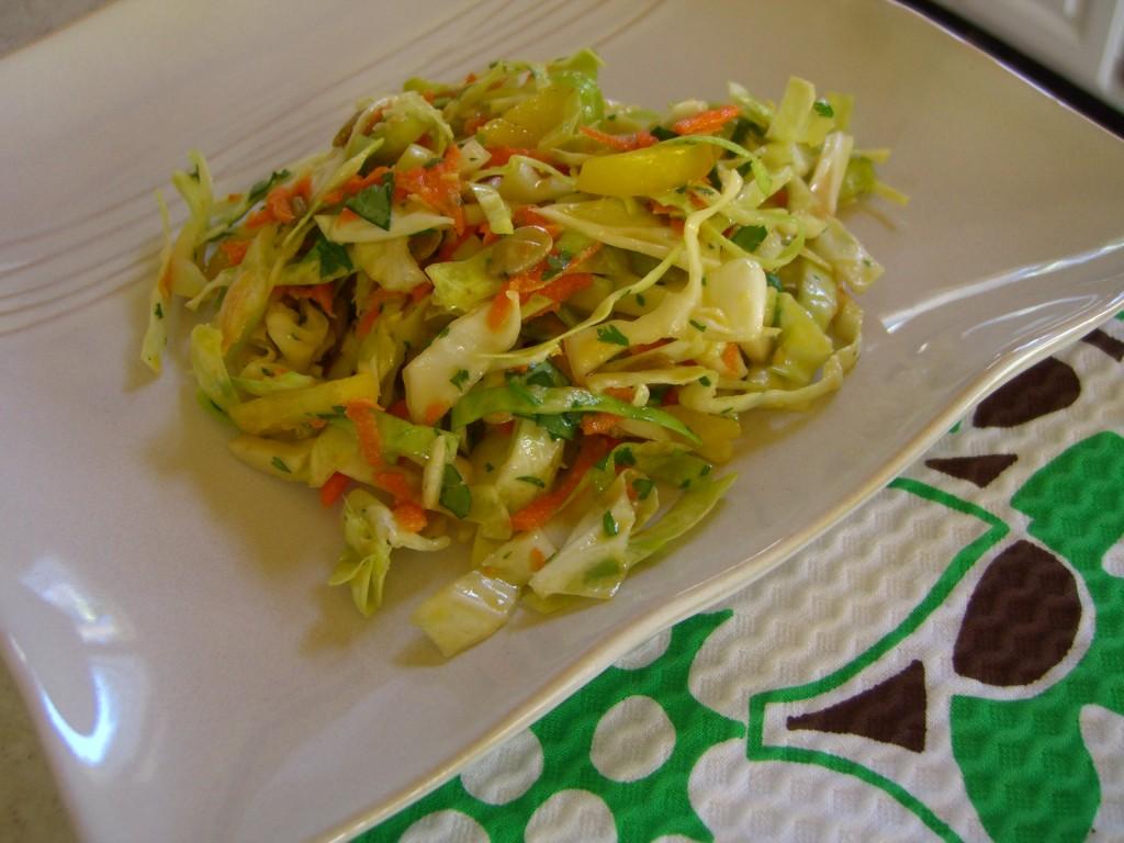 Asian Coleslaw -- Epicurean Vegan