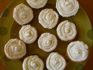 Lemon Cupcakes with Buttercream Frosting -- Epicurean Vegan