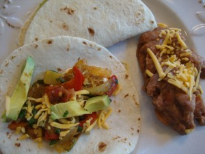 Vegetable Soft Tacos/Fajitas -- Epicurean Vegan