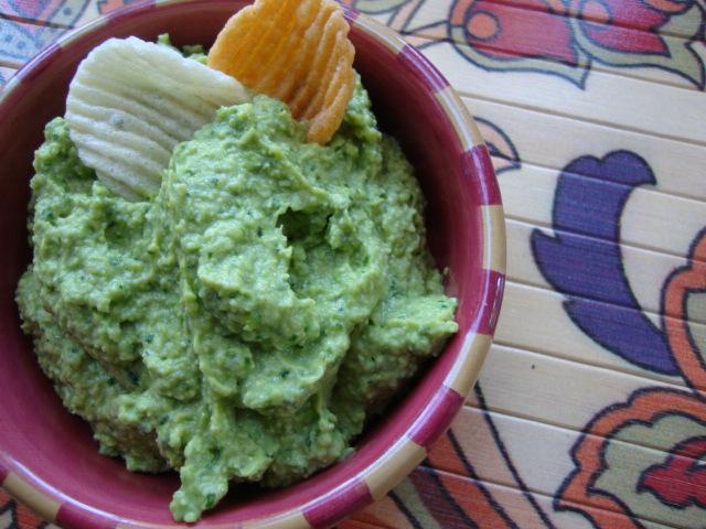 Edamame Guacamole -- Epicurean Vegan