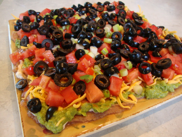 8-Layer Dip -- Epicurean Vegan