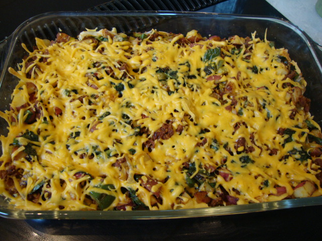 Potato-Leek Breakfast Casserole -- Epicurean Vegan