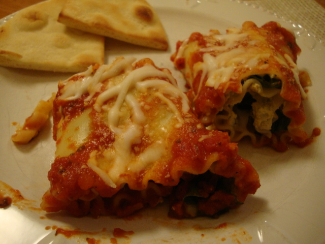 Lasagna Roll-ups -- Epicurean Vegan