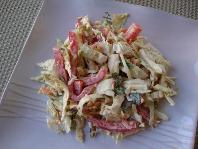Latin-Inspired Coleslaw -- Epicurean Vegan