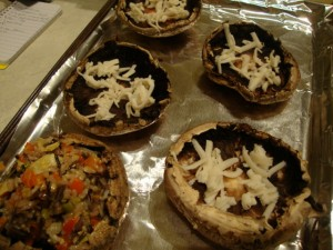 Wild Rice-Stuffed Portobellos -- Epicurean Vegan