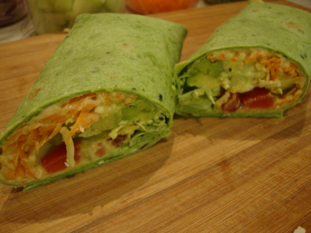 Garden Wraps -- Epicurean Vegan