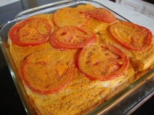 Tomato and Cheez Souffle -- Epicurean Vegan