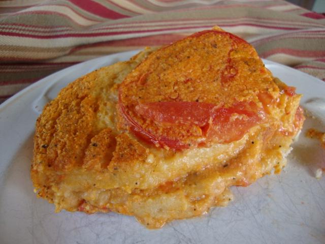 Tomato and Cheez Souffle  -- Epicurean Vegan