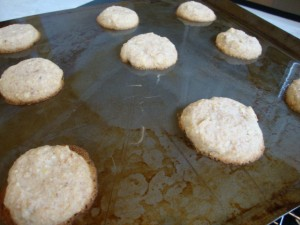 Lemon Almond Cookies -- Epicurean Vegan