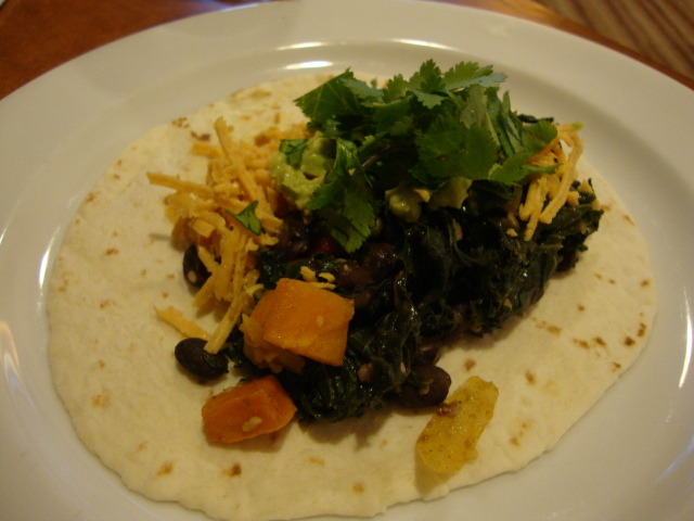 Sweet Potato, Kale and Black Bean Fajitas - Epicurean Vegan