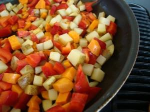 Field Roast and Sweet Potato Breakfast Casserole -- Epicurean Vegan