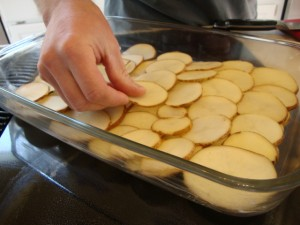 Herb-Scalloped Potatoes -- Epicurean Vegan