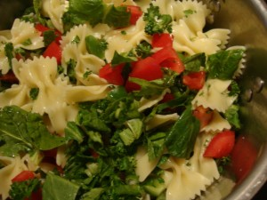 Warm Pasta Salad -- Epicurean Vegan