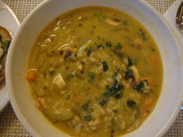 Vegetable-Barley Soup -- Epicurean Vegan
