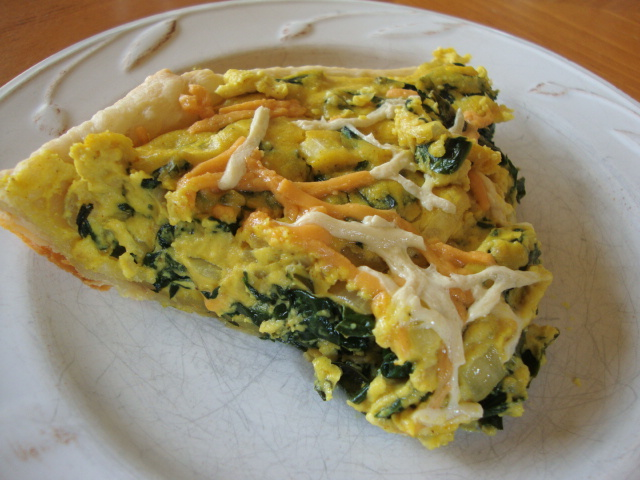 Angela's Vegan Quiche -- Epicurean Vegan