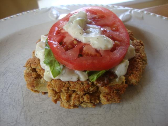 Falafel Burgers -- Epicurean Vegan