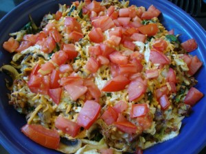 Hash Brown and Spinach Frittata -- Epicurean Vegan