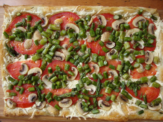 Savory Vegetable Tart -- Epicurean Vegan