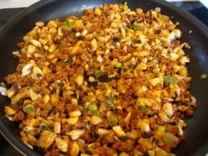Spicy Field Roast-Stuffed Fillo Cups -- Epicurean Vegan