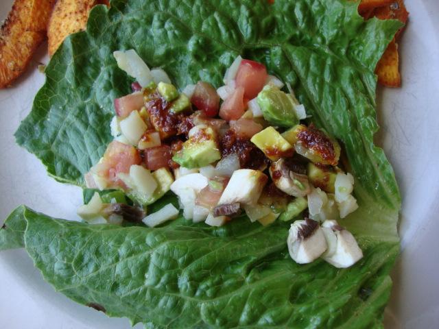 Vegan Lettuce Wraps -- Epicurean Vegan