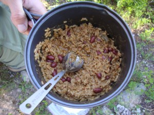 Quick Rice and Beans, Backpacking Made (Vegan) Easy -- Epicurean Vegan
