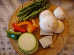 Coq Au Vin Fondue and Dipping Sauces -- Epicurean Vegan
