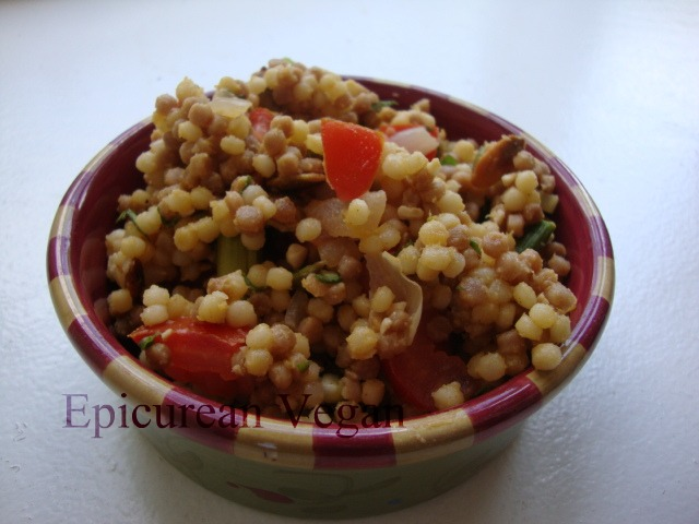 Couscous and Roasted Asparagus Salad