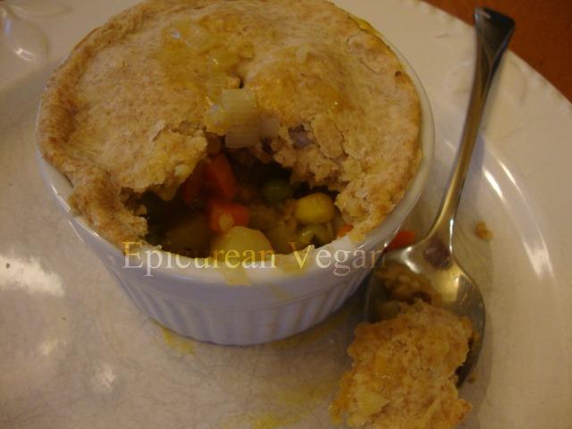 Vegetable Pot Pies -- Epicurean Vegan