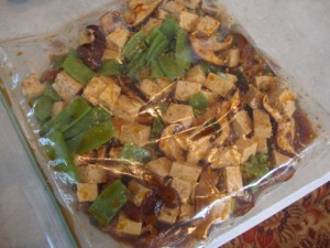 Tofu and Shiitake Stir-fry with Soba Noodles -- Epicurean Vegan