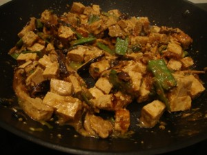Tofu and Shiitake Stir-fry with Soba Noodles -- Epicurean Vegan