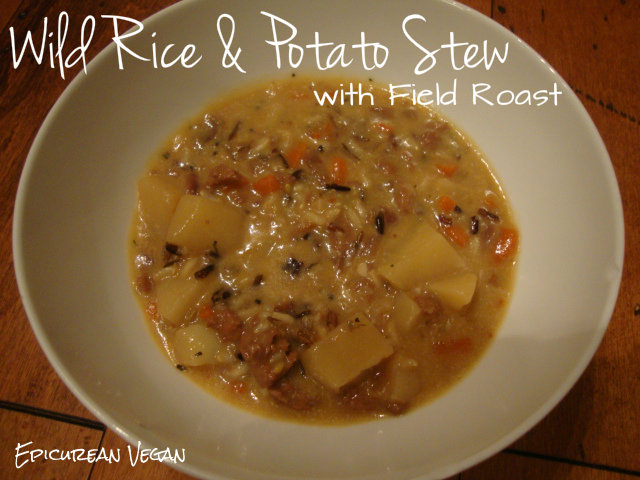 Wild Rice & Potato Stew with Field Roast