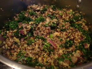 Quinoa and Kale