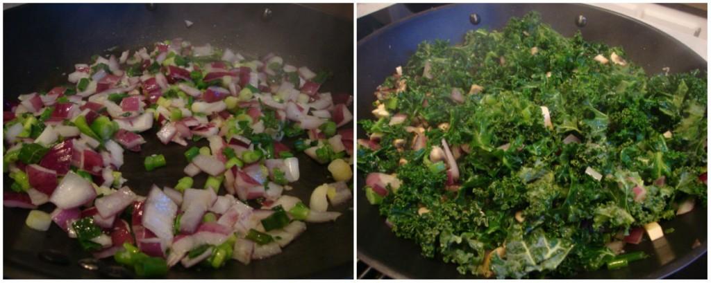 Quinoa and Kale Pitas with Tahini Dressing -- Epicurean Vegan